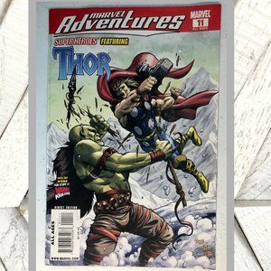 Marvel 2009 #11 Thor Comic Book Fire & Ice